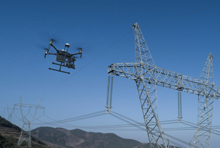 Drone Inspecting to Eliminate Grid down Time